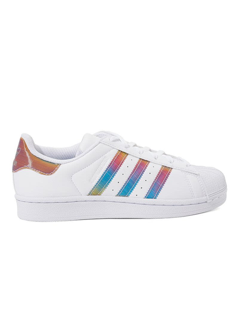 4c680c4243ce Shop adidas Superstar Iridescent Lace-Up Sneakers online in Dubai ...