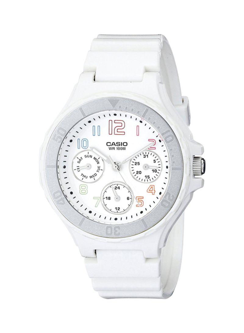 625a6491b Shop Casio Women's Resin Analog Watch LRW-250H-7BVDF online in ...