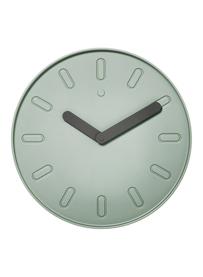 45882c674 Shop Ikea Slipsten Wall Clock Green 2.9 centimeter online in Dubai ...