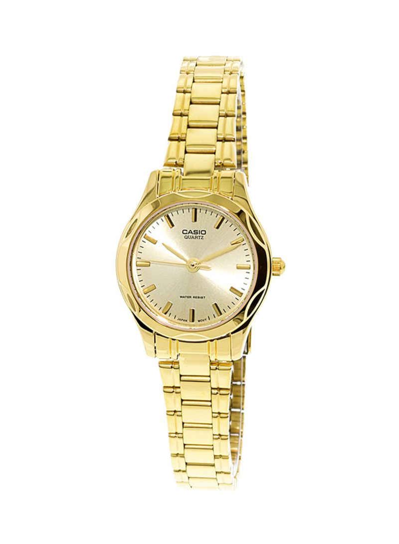 08d28901c Shop Casio Women's Stainless Steel Analog Watch LTP-1275G-9 online ...