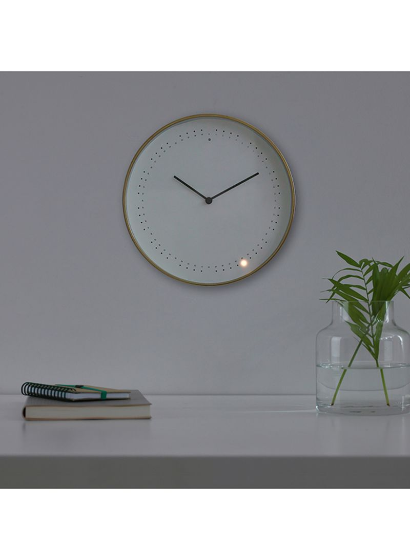 f16d5f65b Shop Ikea Panorera Wall Clock White 24 centimeter online in Dubai ...