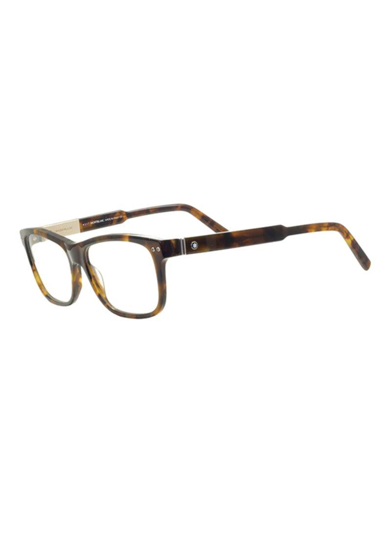 745ce2a4d تسوق مونت بلانك ونظارة طبية بإطار مربع طراز MB704055 للرجال أونلاين ...