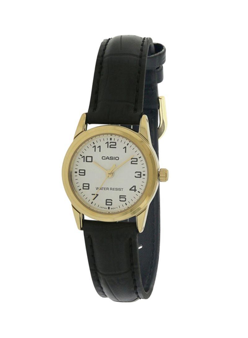 169c5e460 Shop Casio Men's Leather Analog Watch MTP-V001GL-7B online in Riyadh ...
