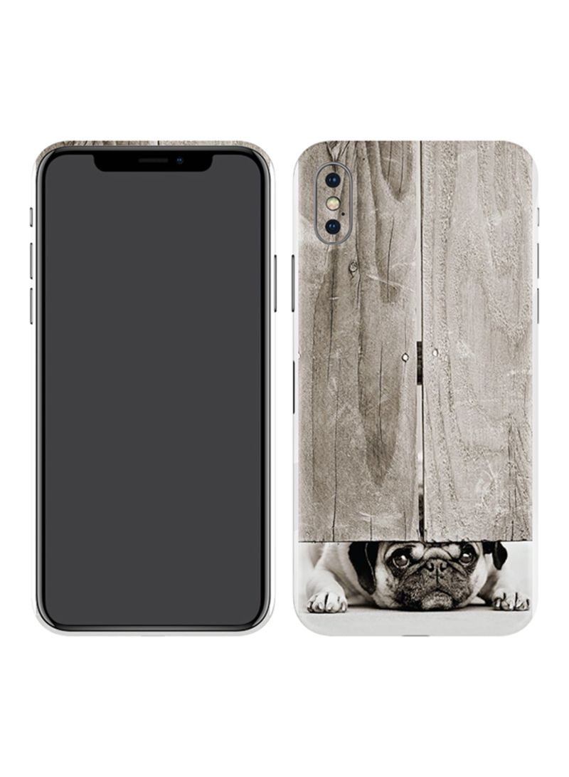 new style bedf6 91595 Shop Switch Protective Skin For Apple iPhone X Pug 002 online in Dubai, Abu  Dhabi and all UAE