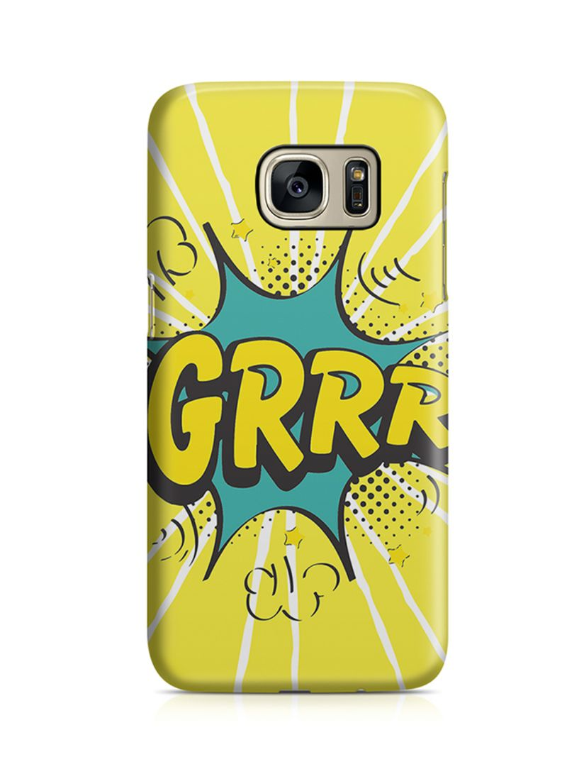 Shop Loud Universe Thermoplastic Polyurethane Wrap Around Case For Samsung  Galaxy S7 Edge Comic Grrr online in Dubai, Abu Dhabi and all UAE
