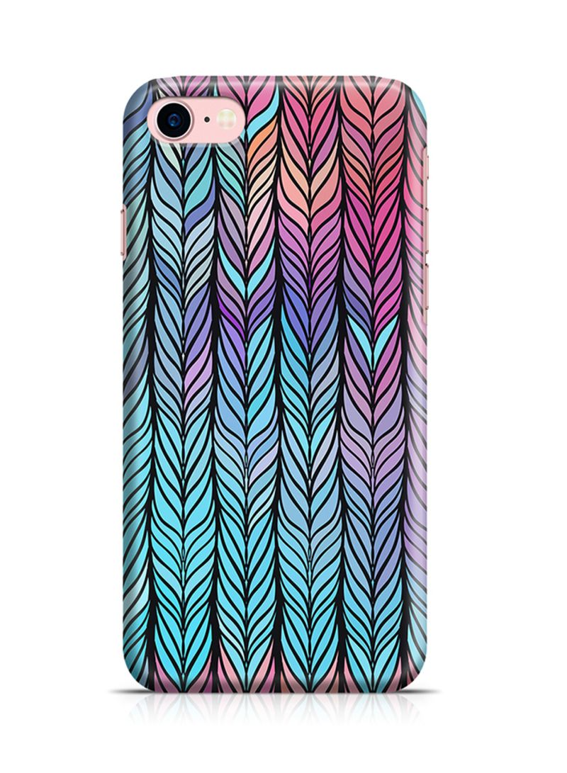 Shop Loud Universe Thermoplastic Polyurethane Wrap Around Case For Apple  iPhone 8 Soft Colors Braids Pattern online in Dubai, Abu Dhabi and all UAE
