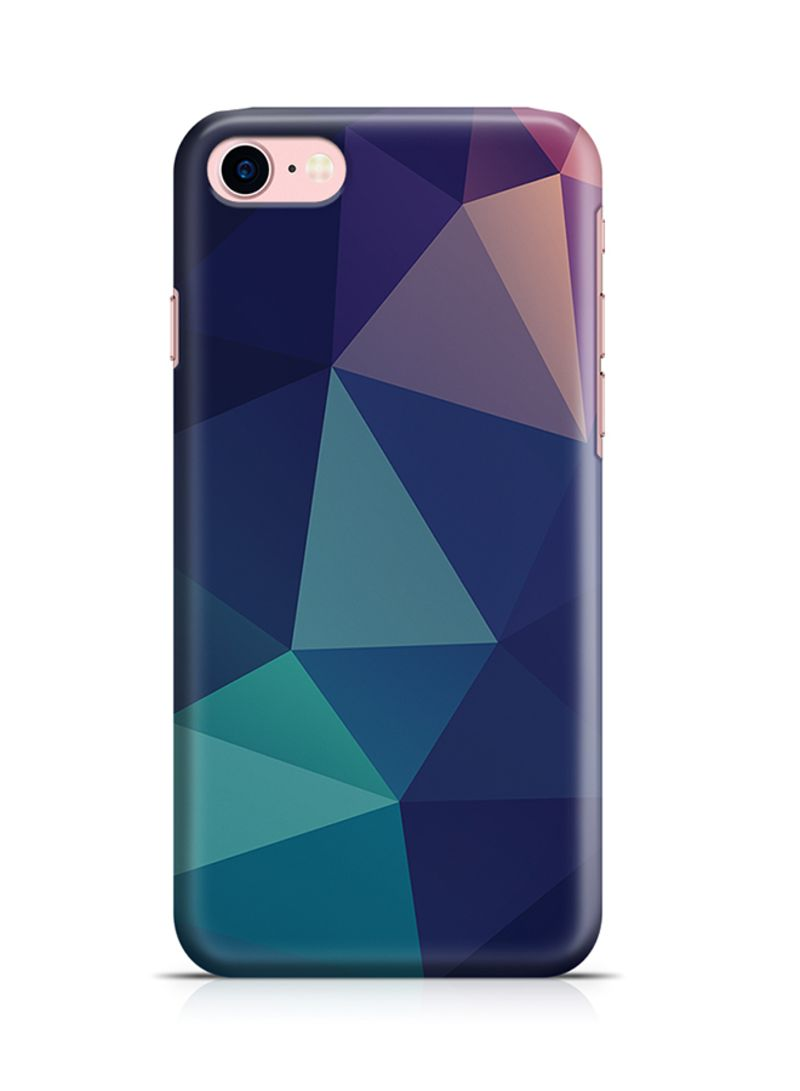 Shop Loud Universe Thermoplastic Polyurethane Wrap Around Case For Apple  iPhone 8 Shades Of Blue Geomaterial Pattern online in Dubai, Abu Dhabi and