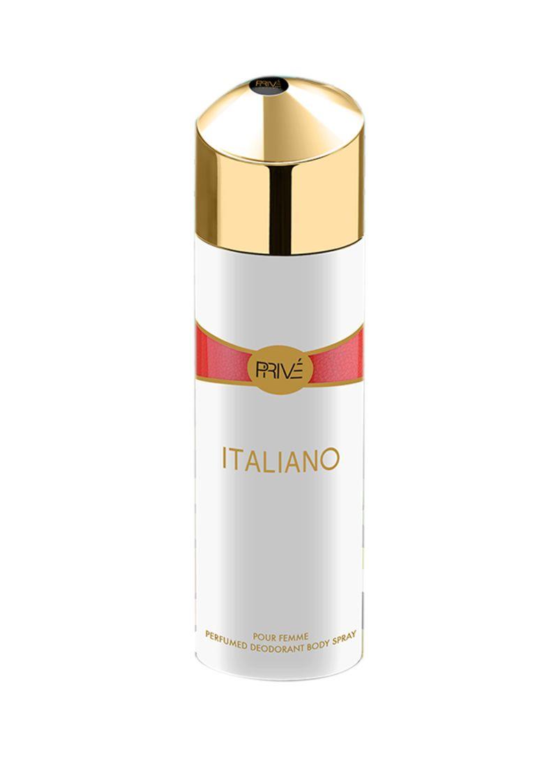 buy online d92b7 76c0b Shop PRIVE Italiano Deodorant Spray 175 ml online in Riyadh, Jeddah and all  KSA