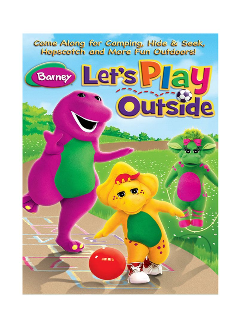 Shop Barney Lets Play Outside Dvd Online In Riyadh Jeddah And All Ksa