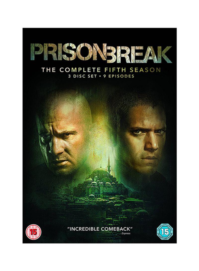Shop Prison Break Seasons 1 5 Dvd Online In Dubai Abu