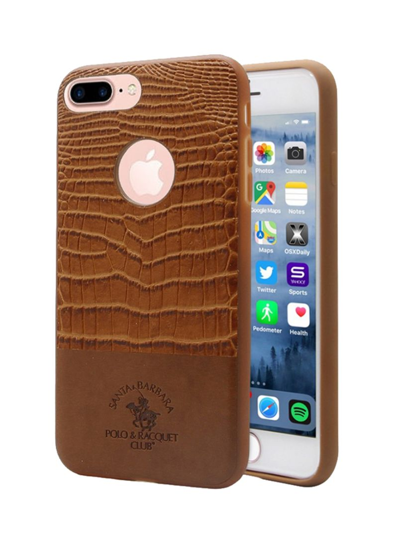 the latest 13f80 d5ad0 Shop SANTA BARBARA POLO & RACQUET CLUB Horseman Series Back Case Cover For  Apple iPhone 7 Plus Brown online in Dubai, Abu Dhabi and all UAE