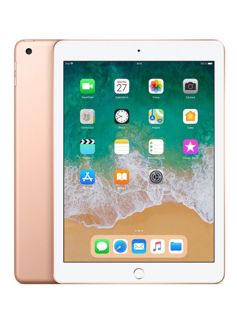 Calendario Fi.Shop Apple Ipad 6th Generation 2018 9 7 Inch 128gb Wi Fi 4g Lte Gold Online In Dubai Abu Dhabi And All Uae