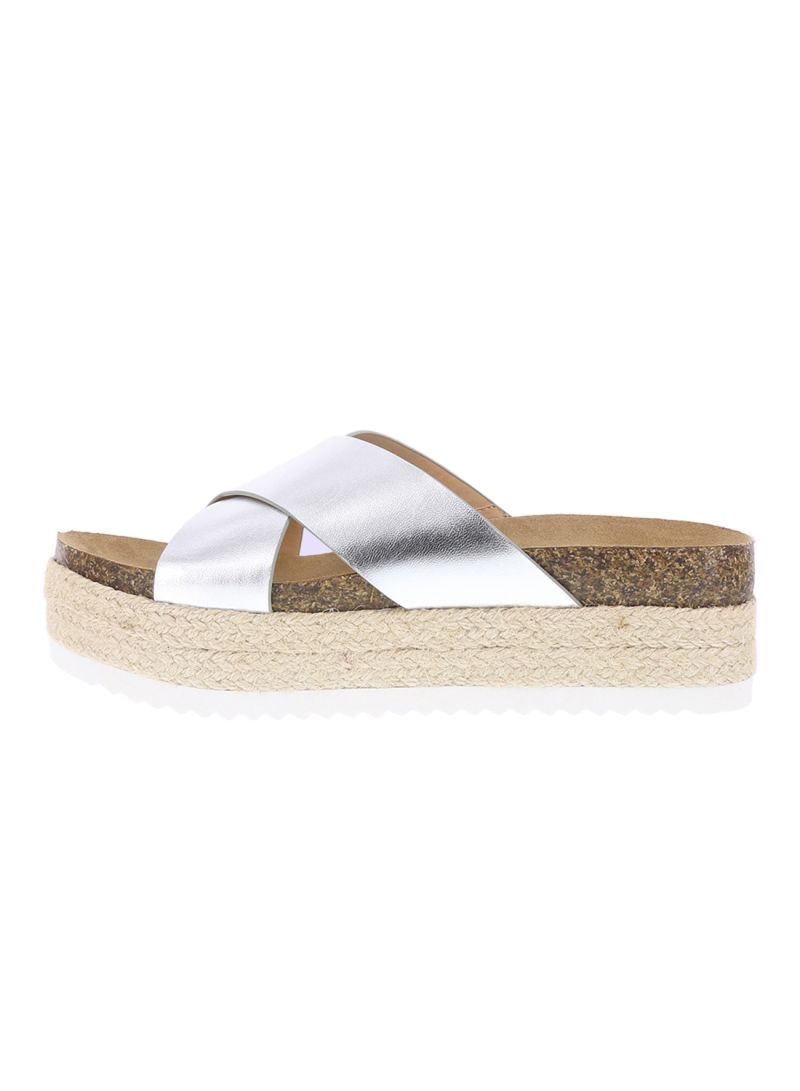 216c6c78063 Shop Payless Satine Cross Band Footbed Sandals online in Dubai