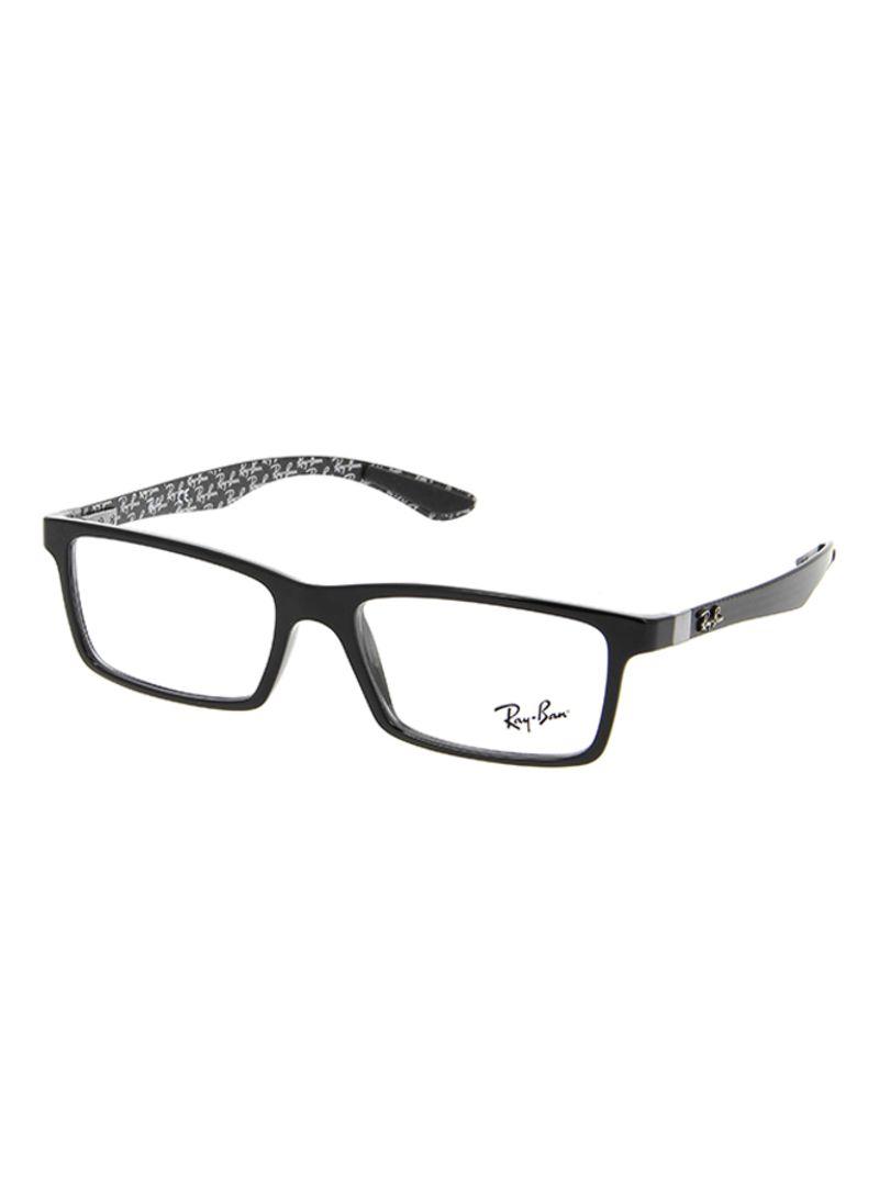 3e949b408c76 Shop Ray-Ban Men's Rectangular Eyeglasses RX8901-5610-55 online in ...