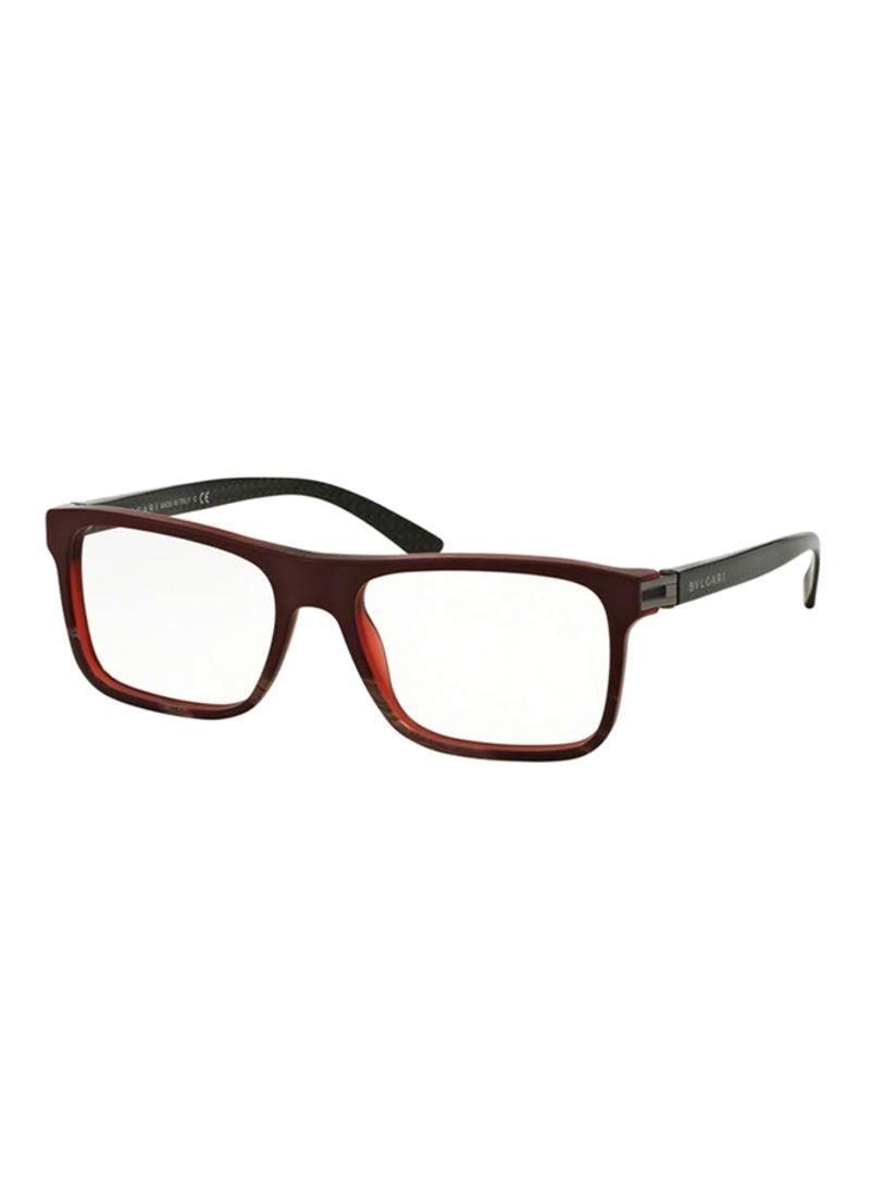 d19f722670975 Shop BVLGARI Men s Rectangular Eyeglasses BV3028-5359-53 online in ...