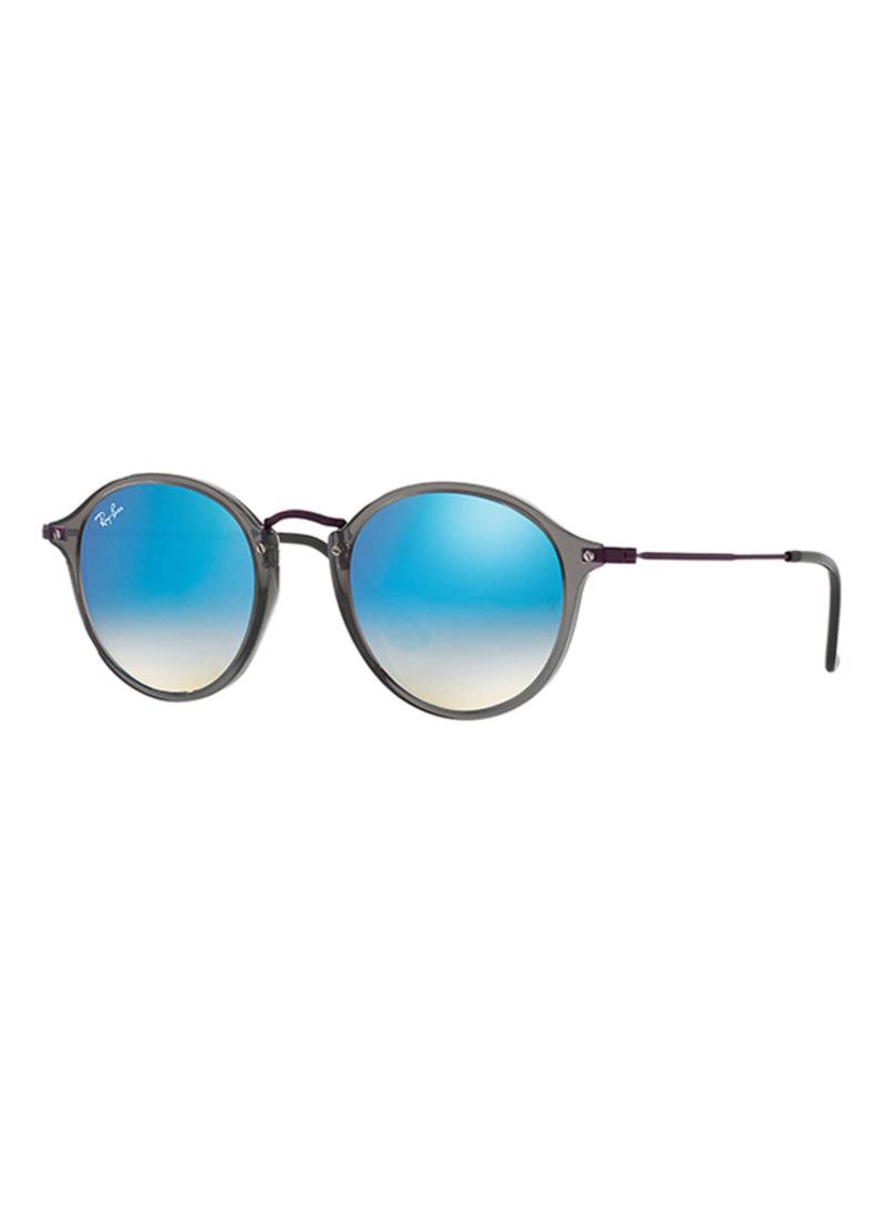 3621256a1a Shop Ray-Ban Men s Round Sunglasses RB2447N-62554O-49 online in ...