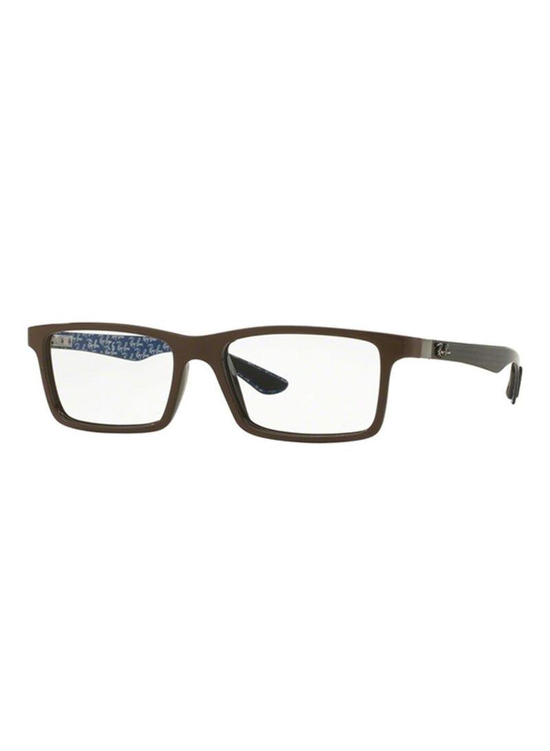 c320635bebd5 Shop Ray-Ban Rectangular Eyeglasses RX8901-5612-55 online in Dubai ...