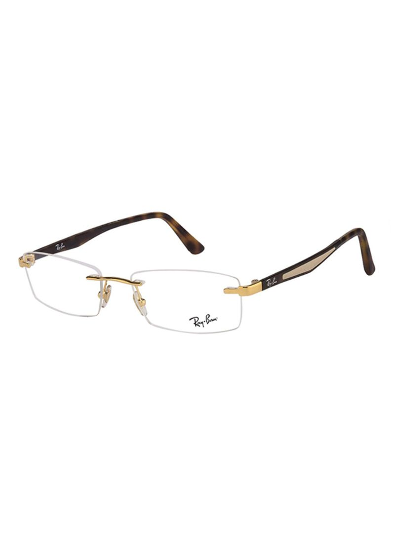 a55101563545 Shop Ray-Ban Rectangular Eyeglasses RX6326I-2500-54 online in Dubai ...
