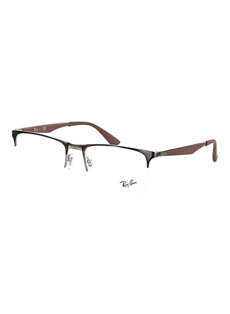 a01cbe062ec Semi-Rimless Eyeglasses RX6362-2880-53
