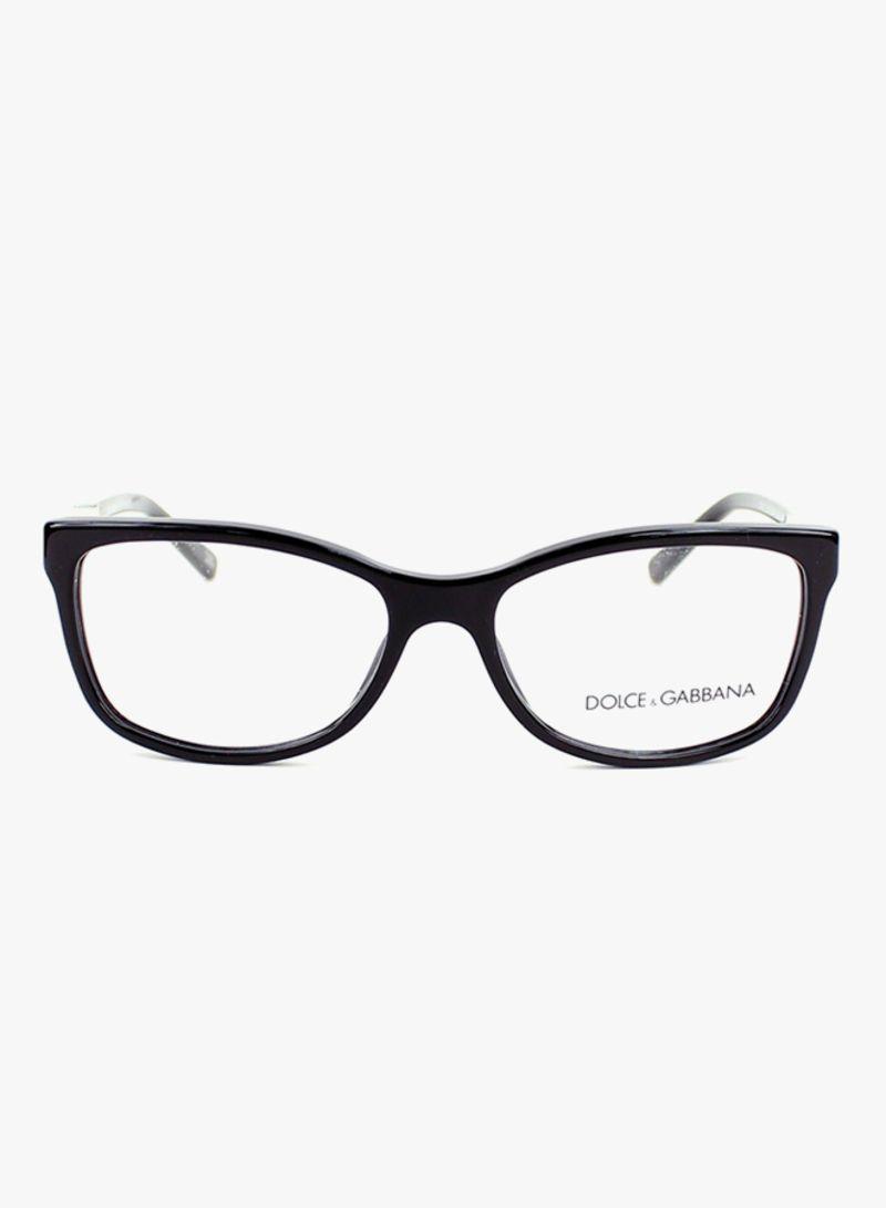 d8c5f5ee7efcd Shop Dolce   Gabbana Women s Rectangular Eyeglasses DG3107-501-52 ...