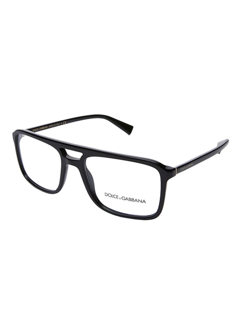 1205d2528c25 Shop Dolce   Gabbana Men s Rectangular Eyeglasses DG3267-501-52 ...