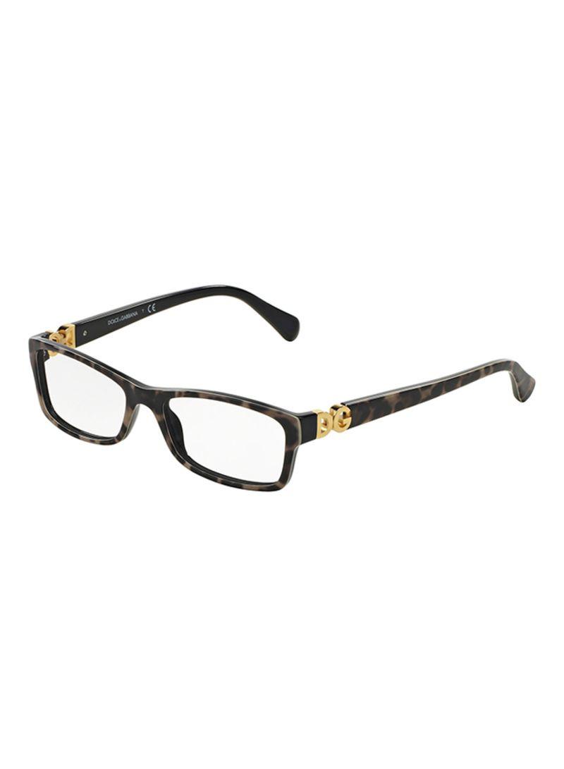 1f67a8ef61cab Shop Dolce   Gabbana Square Eyeglasses DG3228-1995-51 online in ...
