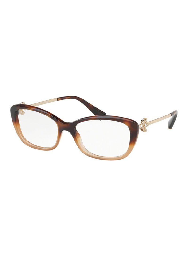 bafdc9ce512c1 Shop BVLGARI Women s Cat Eye Eyeglasses BV4145B-5362-53 online in ...