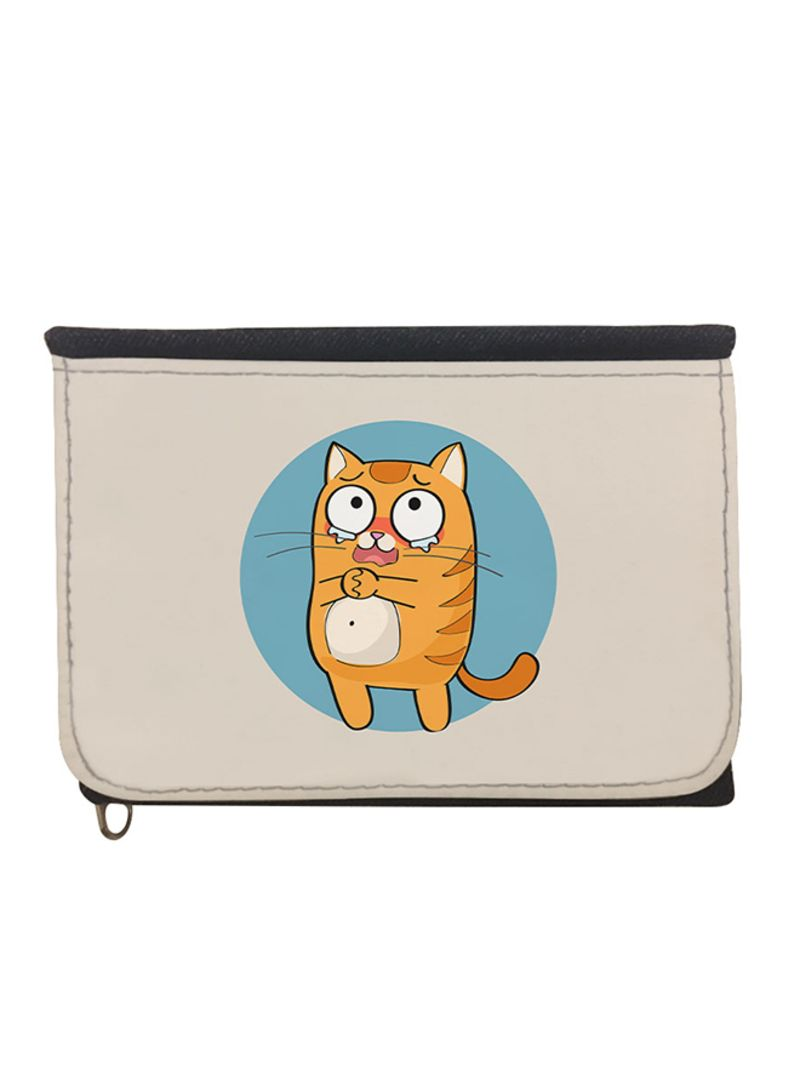 a68ee75f6455 Shop Decalac Expression Graphics - Cat Bi-Fold Wallet online in ...