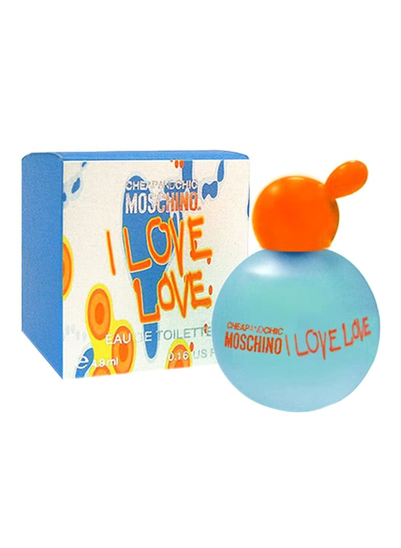 11337fb745 Shop MOSCHINO Cheap and Chic I Love Love EDT 4.9 ml online in Dubai ...
