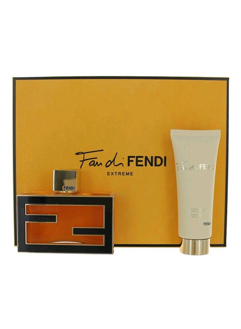 c9f408d6c تسوق فيندي وطقم هدايا فان دي مكون من قطعتين (1 EDP 75ml, 1 Body ...