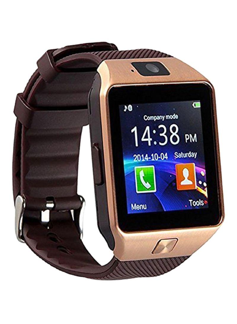 8c9f6b3bcda4 Shop Unbranded DZ09 Smartwatch 380 mAh Rose Gold Brown online in ...