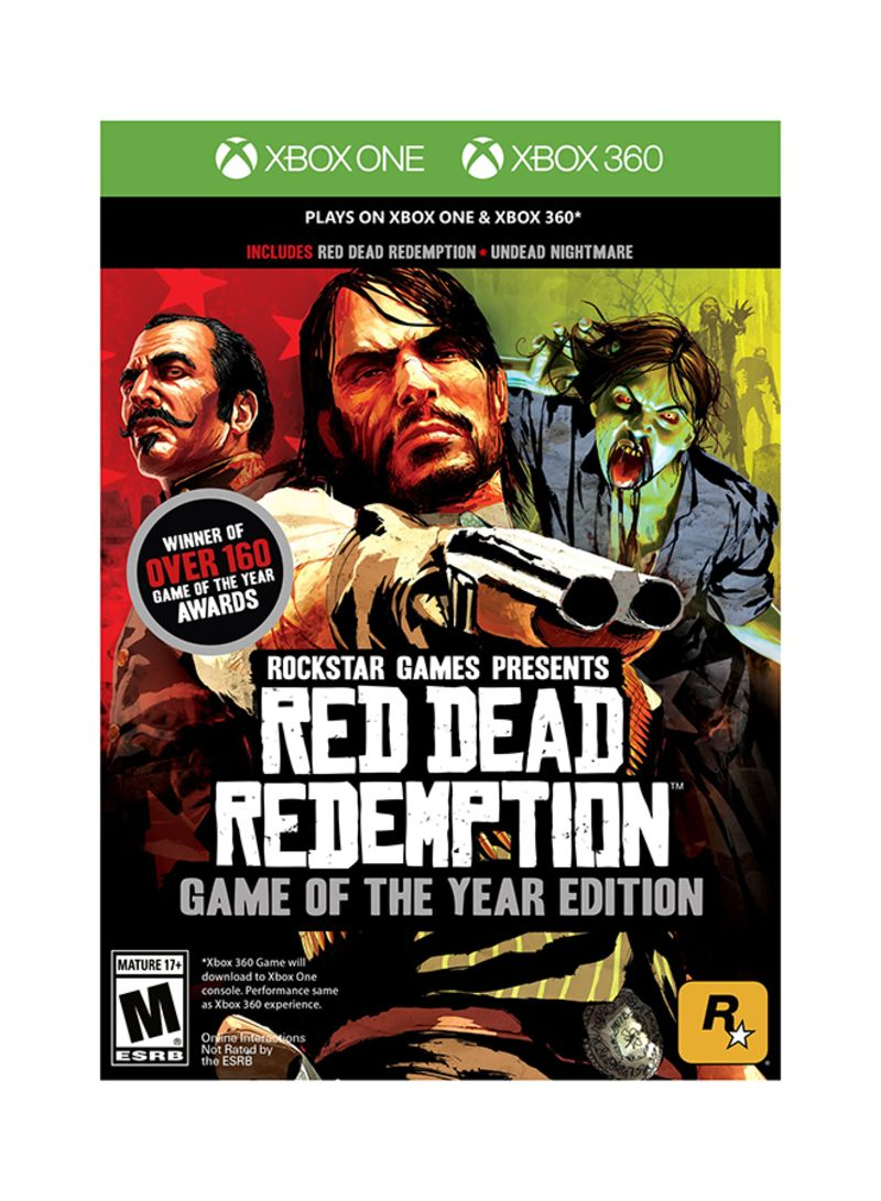 Shop Rockstar Games Red Dead Redemption: Game Of The Year Edition - Xbox  One/Xbox 360 online in Dubai, Abu Dhabi and all UAE
