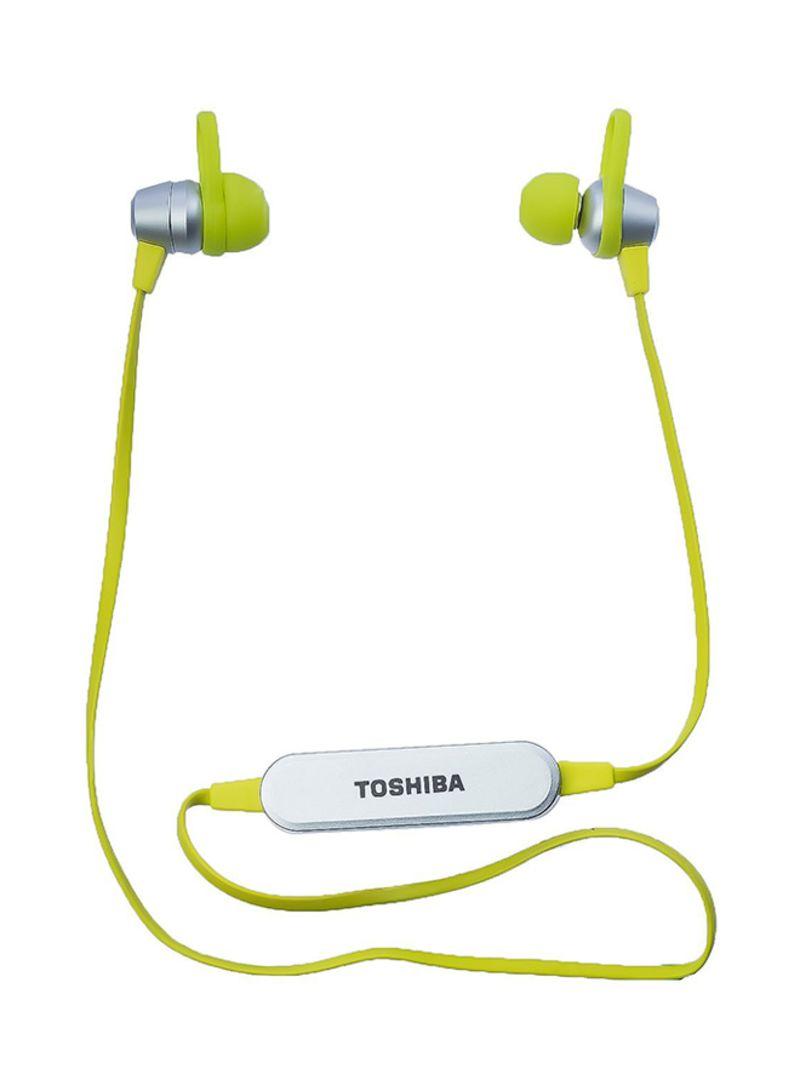 43cdba262d8 Shop Toshiba In-Ear Bluetooth Headphones Green/Silver online in ...