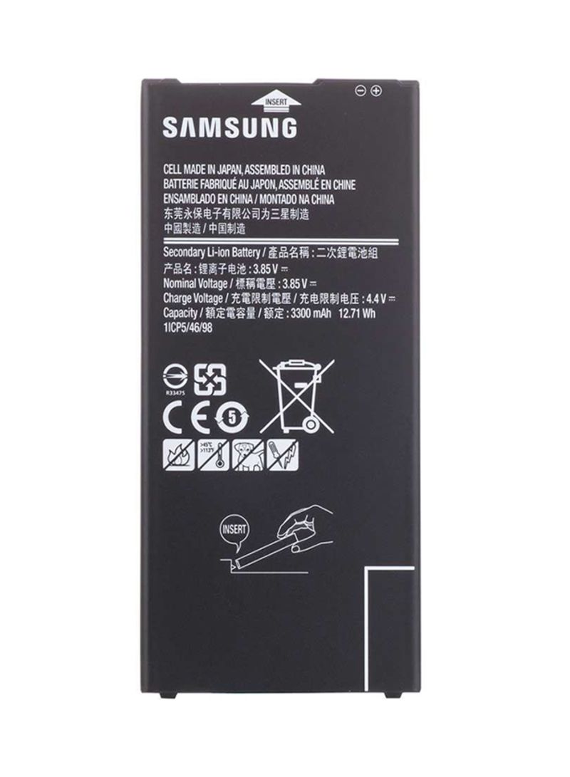 Shop Generic 3300 mAh Replacement Battery For Samsung J7 Prime G610 Black  online in Dubai, Abu Dhabi and all UAE