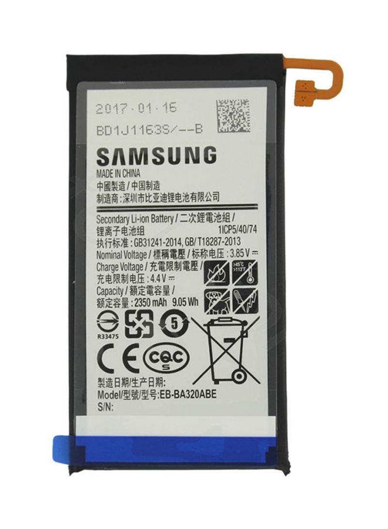 Shop Generic Li-ion Battery For Samsung A3 A320 2350 mAh White/Grey/Blue  online in Dubai, Abu Dhabi and all UAE
