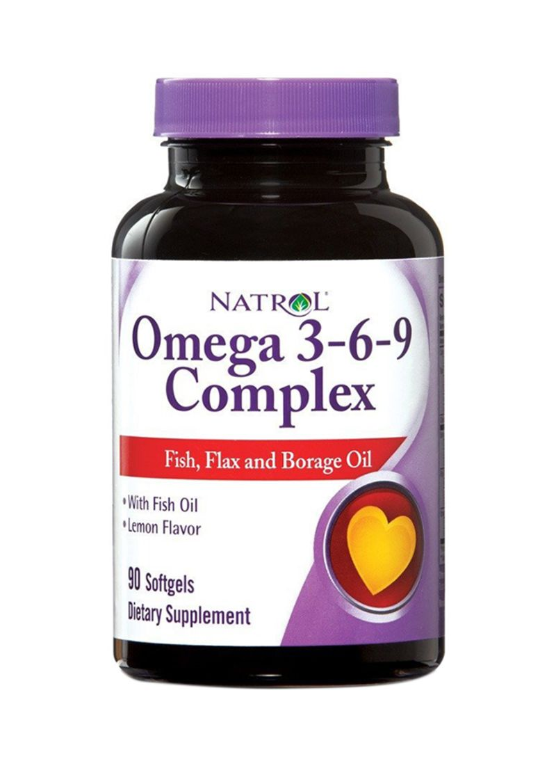 Shop Natrol Omega 3 6 9 Complex Dietary Supplement Online In Dubai
