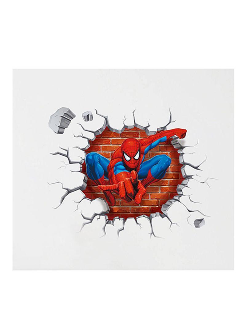 تسوق كياوكاي وملصق للجدار على شكل كرتون سبايدر مان أحمر أزرق