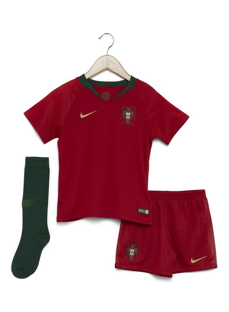 9728f1bbd Shop Nike Portugal FPF Football Home Kit Red Green online in Riyadh ...
