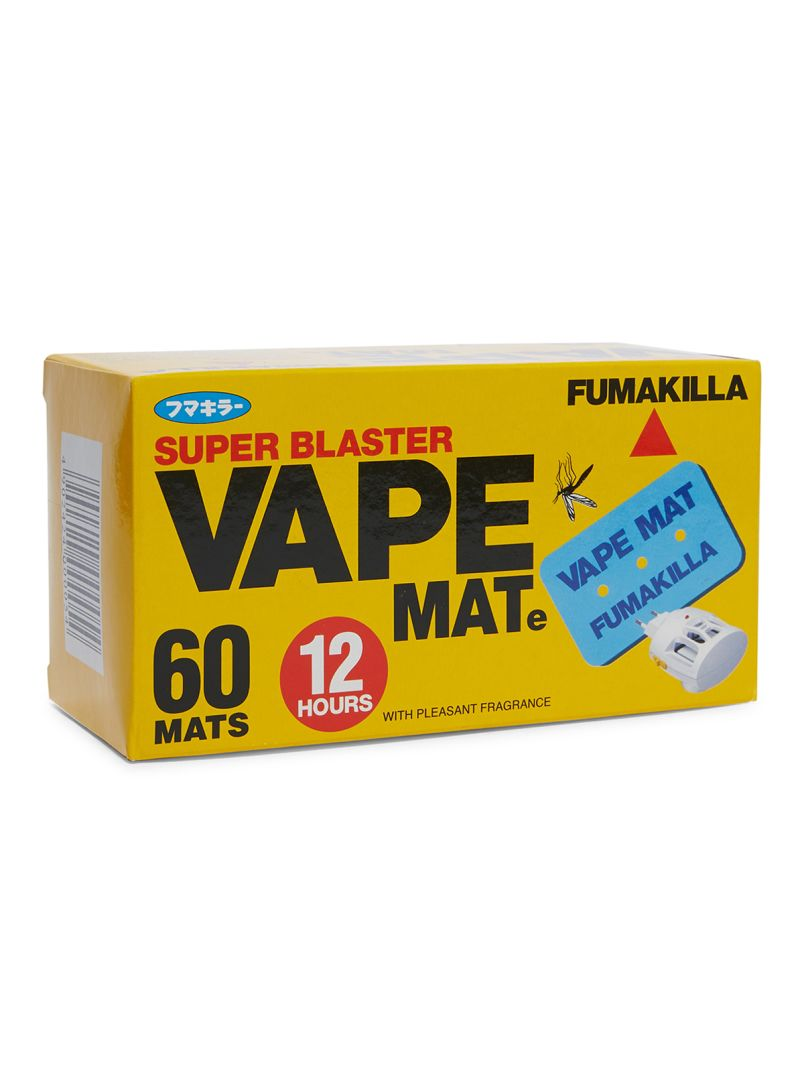 Shop FUMAKILLA Vape Mate, 60 Pieces Blue online in Dubai