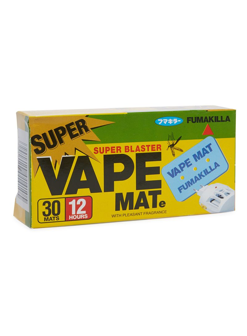 Shop FUMAKILLA Super Vape Mate, 30 Pieces Blue online in
