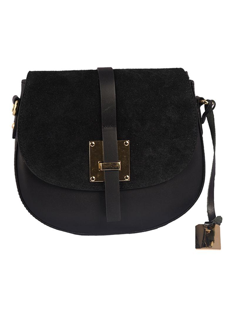 3b9df53597305 Shop Emilio Masi Colardo Leather Crossbody Bag online in Dubai