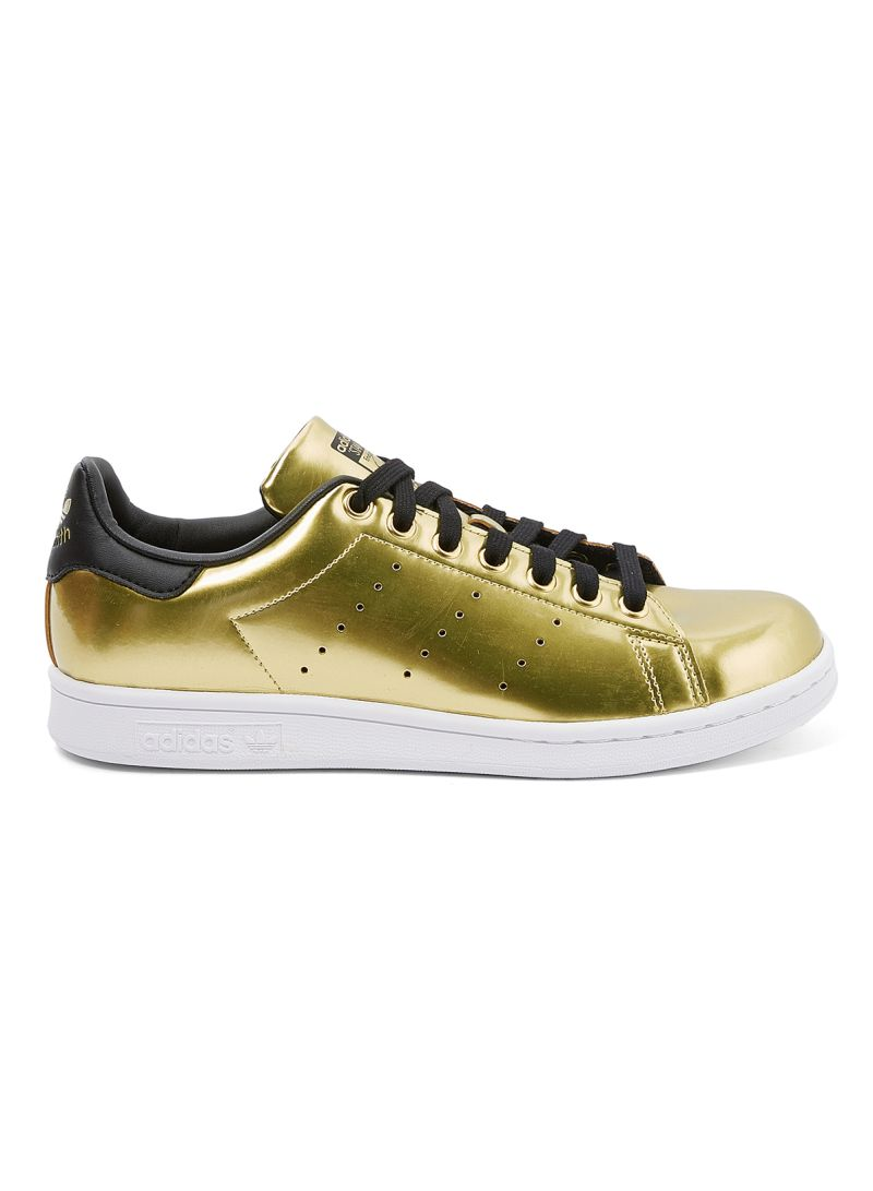 regione ideologia ammaccatura  Shop adidas Stan Smith Low Top Sneakers Gold/Core Black online in Dubai,  Abu Dhabi and all UAE