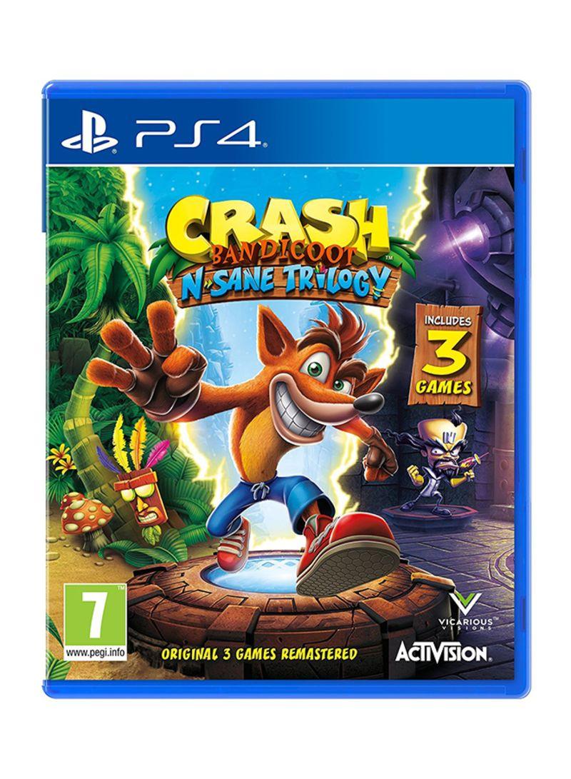 Buy Now Sony Crash Bandicoot N Sane Trilogy Playstation 4