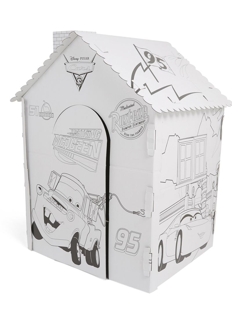 Shop GW Connect Car Giant Cardboard Colouring Playhouse online in ...