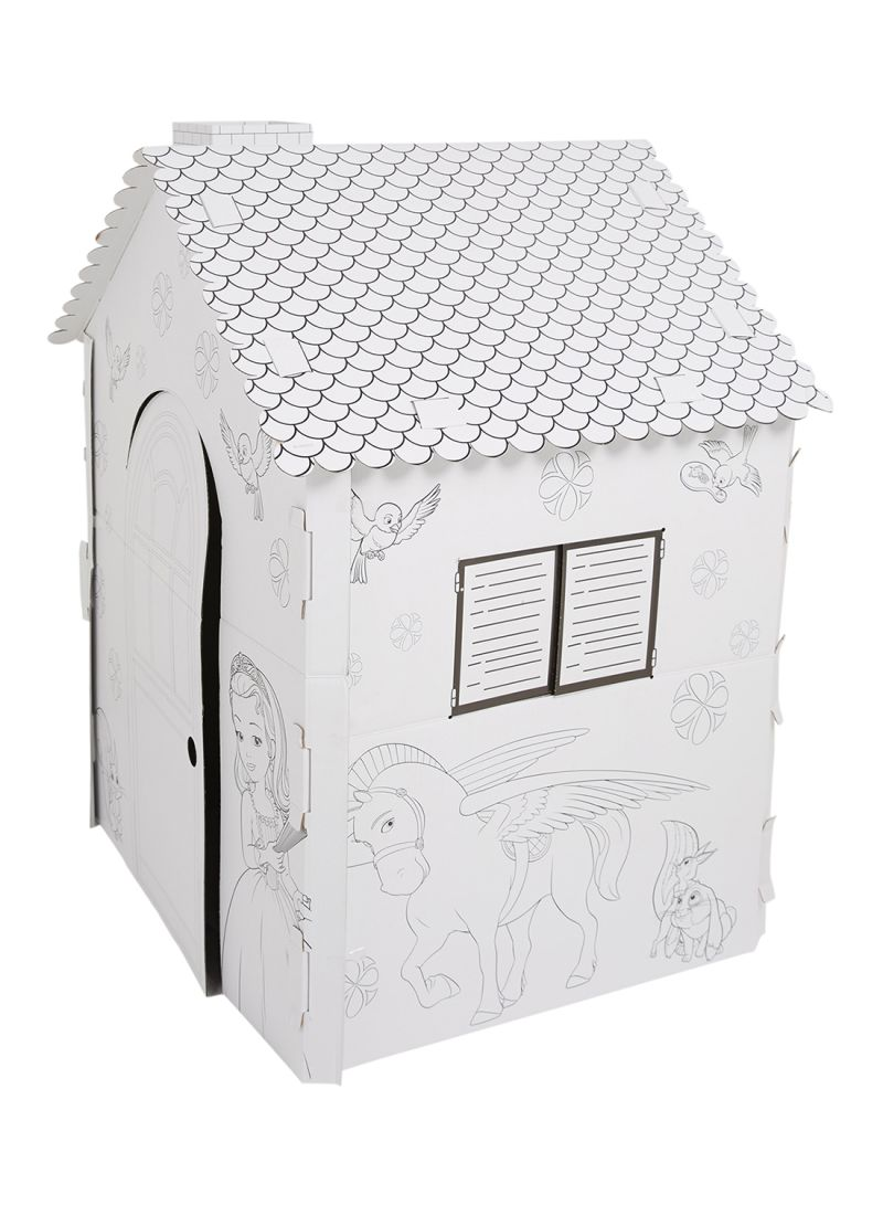 Shop GW Connect Giant Cardboard Colouring Playhouse online ...