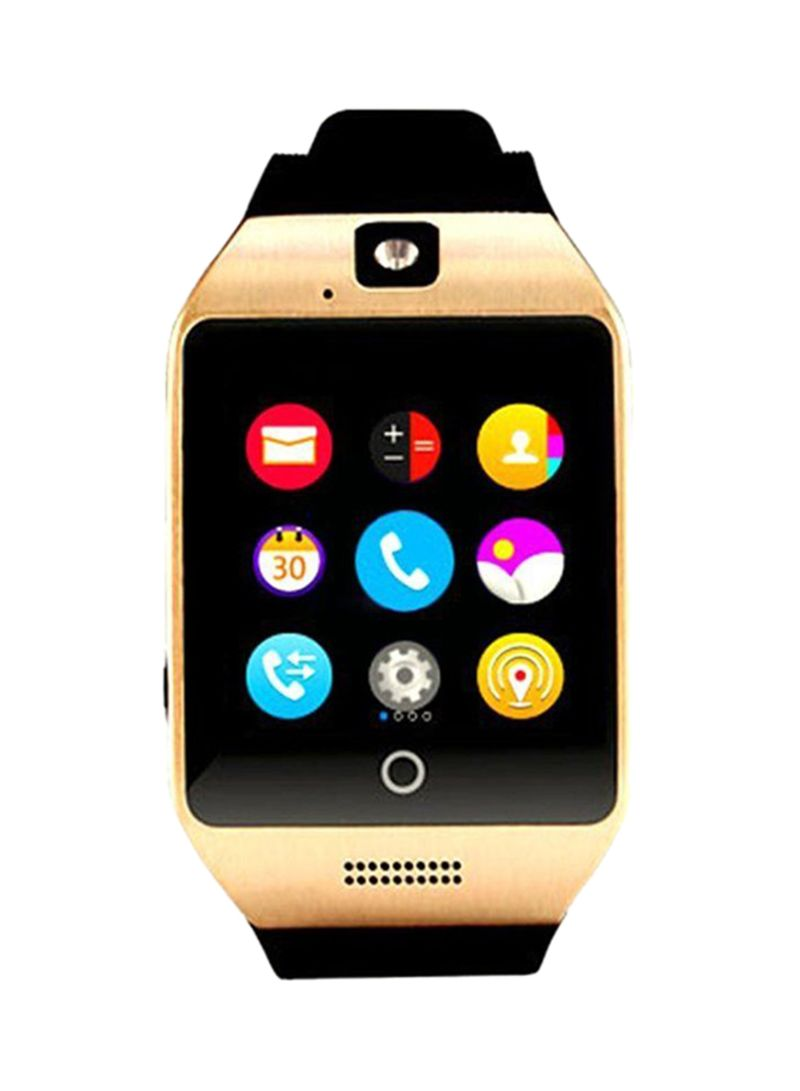 Shop Generic Smart Watch Q18 160704 350 mAh Black online in Riyadh, Jeddah  and all KSA