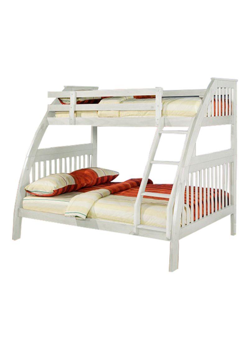 Homes R Us Lotus Bunk Bed White