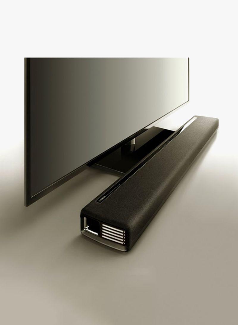 تسوق ياماها وقاعدة مكبر صوت من ميوزك كاست مع مضخم صوت مدمج ثنائي Yas 306 أسود أونلاين في الإمارات