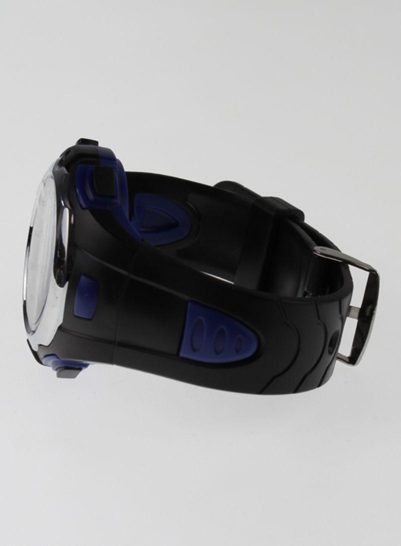 4d1684094 تسوق مينجروي وساعة يد رقمية مقاومة للماء بحزام مطاطي طراز M8538X_ ...