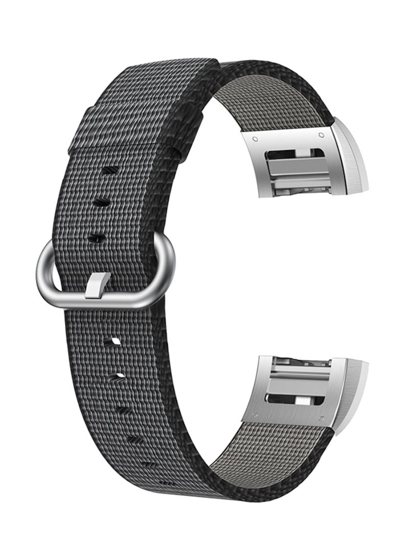Shop ISank Replacement Watch Band For Fitbit Charge 2 Black online in  Dubai, Abu Dhabi and all UAE
